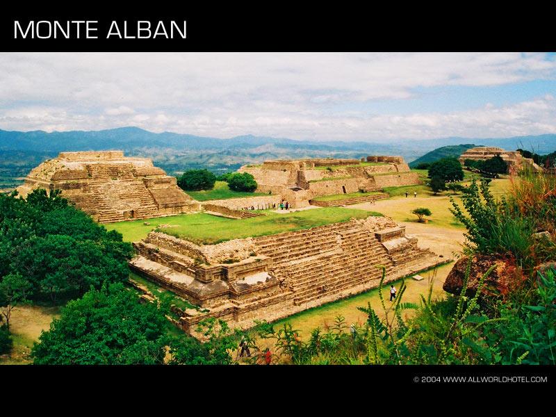 Ruinas de Monte Albán: Oaxaca-México